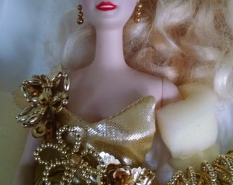 Gold Sensation Barbie- stunning beauty with COA Limited Edition