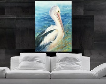 """Limited Edition - """"Feathery Elegance"""" Fine Art Reproduction"""