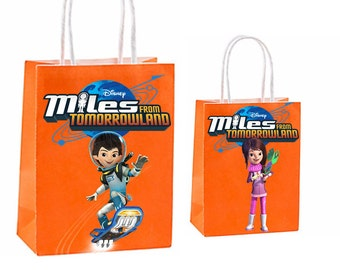 Miles from tomorrowland Party Favor Bag~ Birthday Party Inspired Decorations & Decor