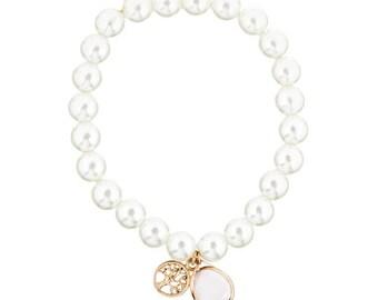 Vita_oro tree bracelet pink