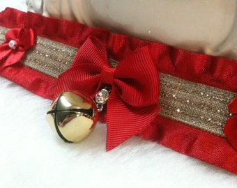 Ribbons n Bows  ~ Kitten play collar