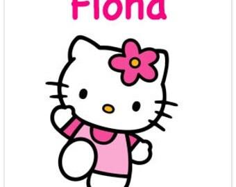 Customized Hello Kitty on Canvas