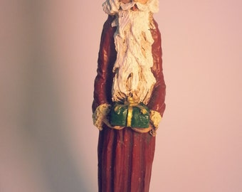 Handpainted Santa Figurine