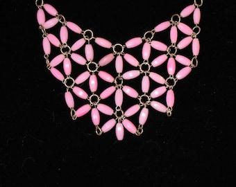 Bubble Bib Necklace
