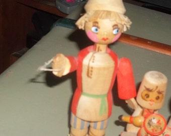 Beriozka wooden figures
