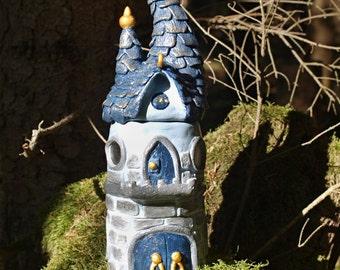 Castle magical fairies, fairy tale house castle