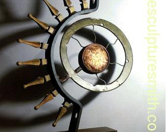 Metal Sculpture-Metal Art-Indoor Metal Sculpture-Modern Abstract