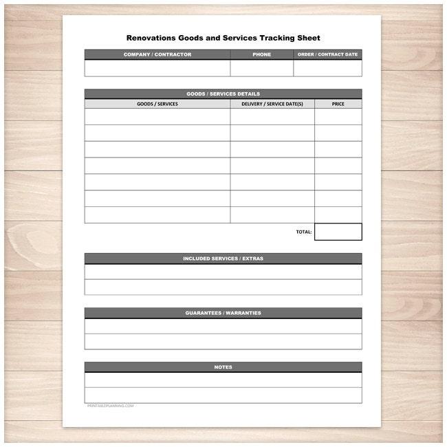 Printable Babysitter Expense Sheet Monthly Babysitter or – Printable Expense Sheet