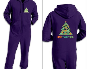 One Two Tree adult onesie