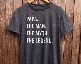 Funny Papa Shirt - dad gifts, gifts for dad, funny dad tshirt, papa tshirt, gifts for papa, grandpa gifts, funny grandpa tshirt, grandad