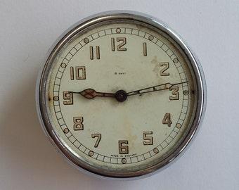Vintage Pocket Watch Stop Clock Time Keeper Clockwork Wind Up Retro Antique