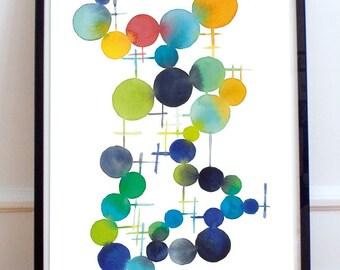 Illustration - color circles