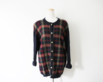 SALE Vintage Cardigan Sweater