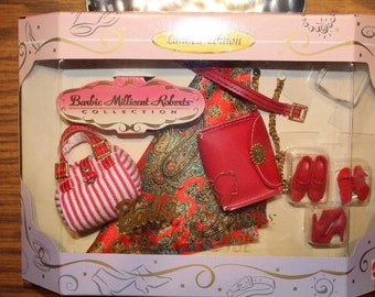 Limited Edition Barbie Millicent Roberts Collection Final Touches Red Hot