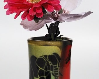 Wild Animal Vase ***Pencil Holder***