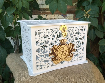 Lockable Wedding card box  Box with lock   Wedding money box   Savings box  Wedding card box with lock   Etsy. Locking Wedding Card Box. Home Design Ideas