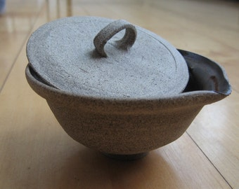 Large Sand Colored Gaiwan