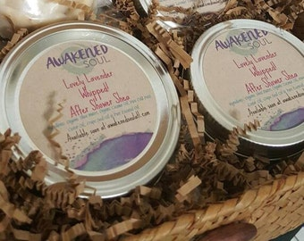 Whipped Shea Butters- Essential Oil