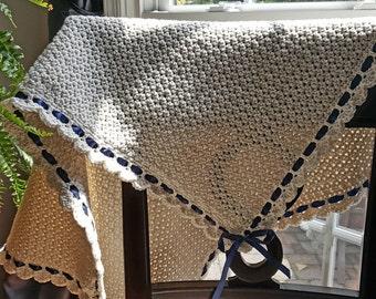 Handmade Cotton Blend Baby Blanket