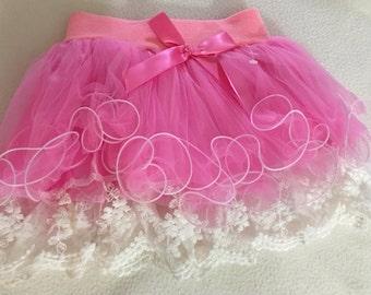 Children lace skirt, Toddler Tutu skirt, kids chiffon skirt, fluffy tutu skirt