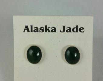 Alaska Jade stud earrings