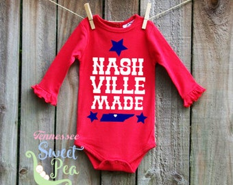 Shop for Nashville Baby Clothes & Accessories products from baby hats and blankets to baby bodysuits and t-shirts. We have the perfect gift for every newborn.