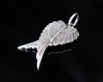 Beautiful angel wing Silver 925 wing pendant