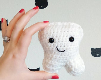 Crochet Tooth Fairy Pillow | Tooth Fairy Pouch