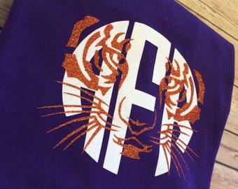 Clemson Tiger Monogram Shirt