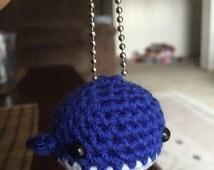 Little Crochet Whale, Amigurumi Whale, Whale Keychain, Little Whale Plush, Whale Plush Keychain