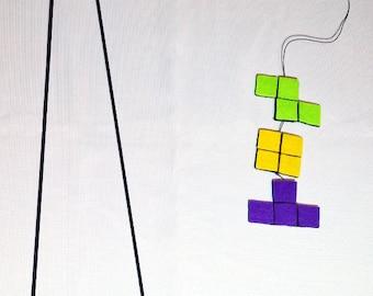 Tetris Cat Wand Toy