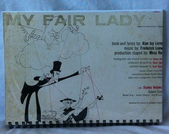 1956 My Fair Lady Notebook