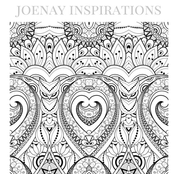 Adult Coloring Book, Printable Coloring Pages, Coloring Pages, Coloring Book for Adults, Instant Download, I love 70s 2 page 2