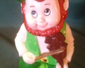 Vintage Artline Leprechaun, Artline , Leprechaun, St. Pattys Day, St. Patricks Day, Lucky Leprechaun, Holiday Decor, St. Particks Day decor