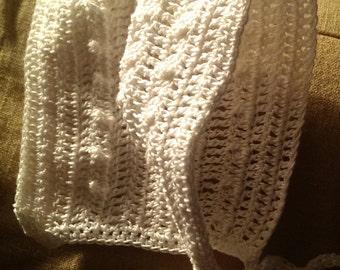 Newborn, crocheted set.