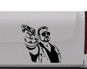 Walter decal | The Big Lebowski | The Dude