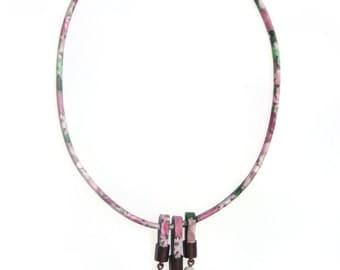 FlowerPower boho necklace