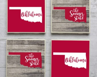 Man Cave Norman Ok : 3 square maps of oklahoma with 15% discount largest cities