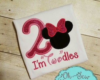 Minnie 2nd Birthday Shirt