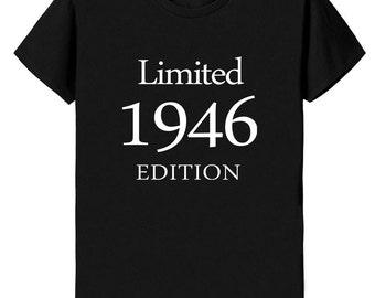 70th Birthday Gift, 70th Birthday Shirt, Limited 1946 Edition Shirt L1946