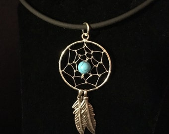A Tad Larger Dreamcatcher Pendant