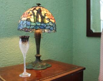 Modernist Art, Fruman Art Glass signed  Goblet