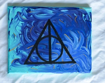Harry Potter Deathly Hallows Paintings