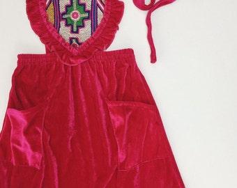 Valentine Sweetheart Maxi 6T 6 Years, Bohemian Kids Fashion,  Toddler Dress, Boho Kids, Kids Dress, Hippie Dress, Kids Maxi, 6T Clothing
