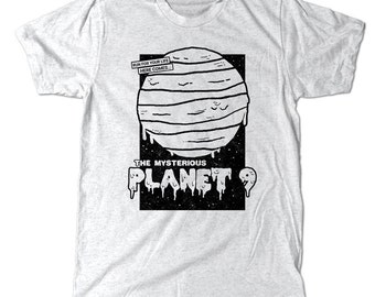 Planet 9 T-Shirt, Space Horror Solar System Tee Shirt