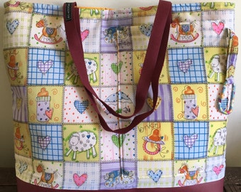 Big Mountain Beach and Baby bag, one of a kind just for you.