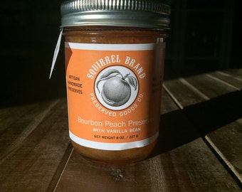 Bourbon Peach Preserves