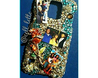 Bling Phone Case -- Add Your Own Photo (3)