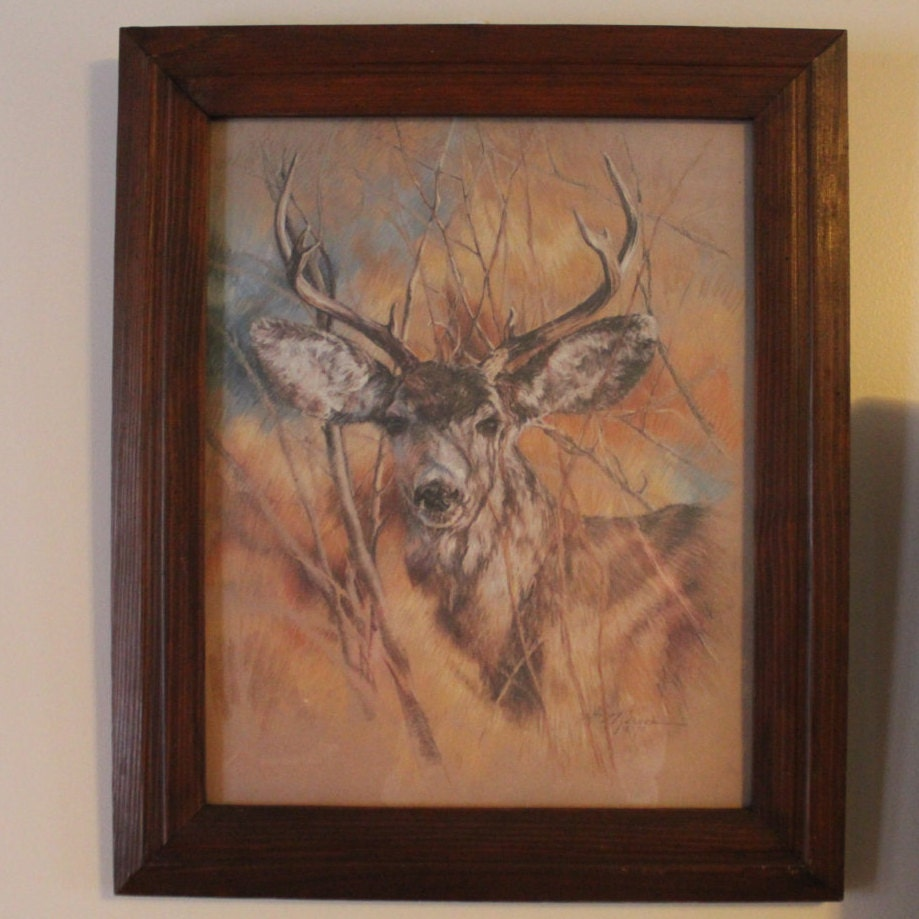 Home Interior Pictures: Vintage 1978 Home Interiors Homco The Silent Buck