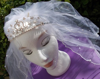 Short Bridal Veils